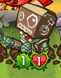 CardboardRobotZombieHealthAttack