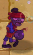 Hypnotized Suicide Bomber Zombie (with a bomb)