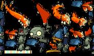 Shrimp Soldier Zombie Textures