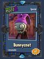 Bunnycoat Sticker