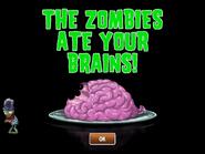 Jurassic Buckethead eating brains