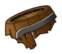 Destroyed Barrelhead