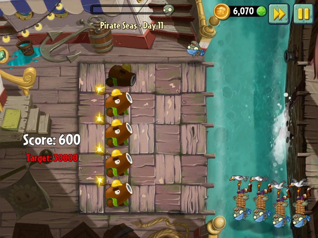 Pirate Seas - Day 11