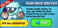 Brain Freeze Hero Pack
