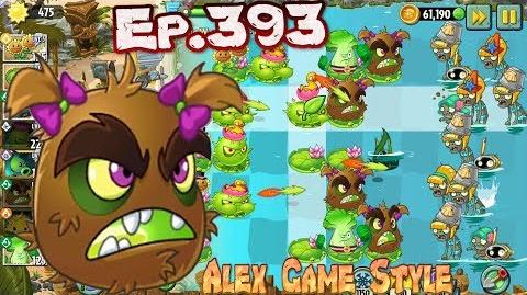 Plants vs. Zombies 2 Kiwibeast and Homing Thistle - Big Wave Beach Day 7 (Ep