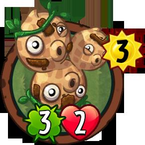 Three-Nut