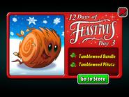 12 Days of Feastivus 2020 Day 3 Tumbleweed