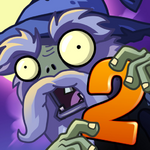Plants Vs. Zombies™ 2 It's About Time Square Icon (Versions 2.5 to 2.6)