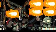 Archer Zombie Sprites