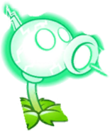 Electric Peashooter Puzzle Piece Texture