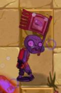 Hypnotized Flag Monk Zombie