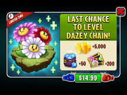 Last Chance to Level Up Dazey Chain Ad