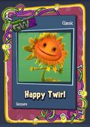 Pvzgw2 happy twirl sticker