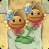 Twin Sunflower Costume5