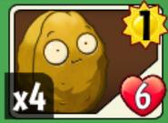 Wall-nut card