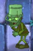 Fainted Buckethead Peasant