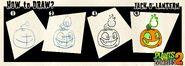How to Draw Jack o' Lantern