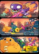 Junkyard Ambush! middle comic strip