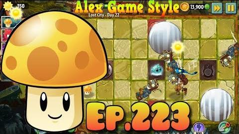 Plants vs. Zombies 2 Simple level with balls - Lost City Day 22 (Ep