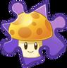 Sun-shroom Puzzle Piece
