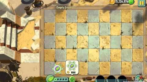 Empty Level - Unused Level - Plants vs