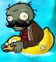 Moustache Ducky Tube Zombie