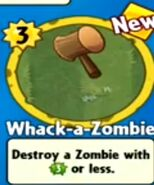 Receiving Whack-a-Zombie