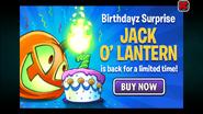 Jack O' Lantern Ad