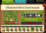 Stickybomb Rice's Sweet Season Prize Map