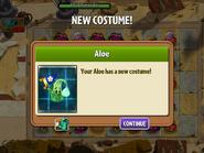 Getting Aloe Second Costume