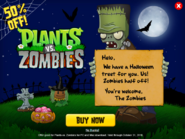 Plantsvs.ZombiesHalloweenAdvertisement