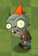 Big Brainz Conehead Zombie