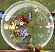 Excavator Zombie Hamster Ball