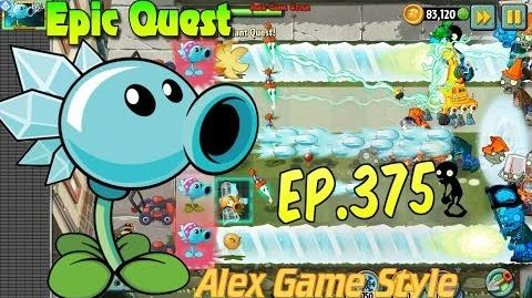Plants vs. Zombies 2 - SNOW PEA - Epic Quest Premium Seeds (Ep