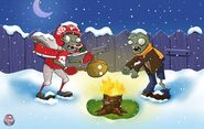 Plantsvs.Zombies Winter2010Wallpaper1