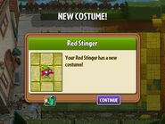 Red Stinger Costume from Piñata Party