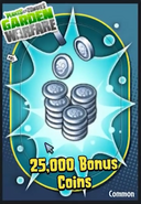 25,000BonusCoins