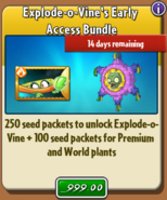 Explode-o-Vine's Early Access Bundle