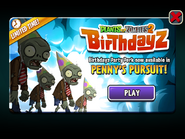 Penny's Pursuit Birthdayz