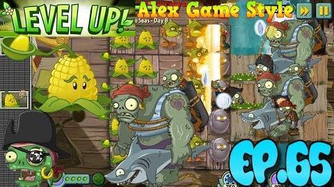 Plants vs. Zombies 2 New Pirate Gargantuar Pirate Seas Day 8 (Ep