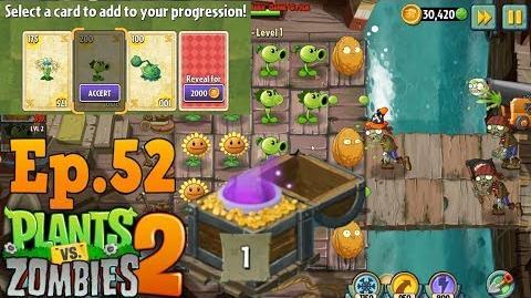 Plants vs. Zombies 2 Prize Dead Man's Level 1 (Ep