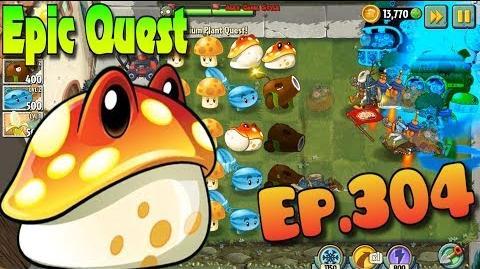 Plants vs. Zombies 2 TOADSTOOL - Epic Quest Premium Seeds (Ep