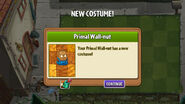 Primal Wall-nut costume unlock
