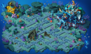 East Sea Dragon Palace World Map