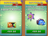 Explode-O-Nut Seed Packets & Gem Bundle Feastivus