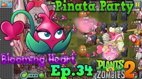 Plants vs. Zombies 2 Pinata Party 8 2 2018 Blooming Heart Premium Plant - Valenbrainz (Ep