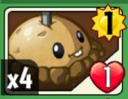 Potato mine card