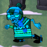 Chilled Festivus Poncho Zombie