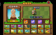 Pea-nut's upgrade system