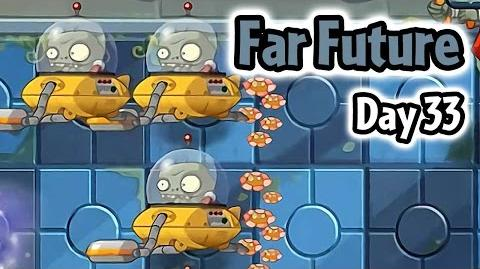 Plants vs Zombies 2 - Far Future Day 33- Don't Trample the Flowers - Caulipower Epic Quest Step 8
